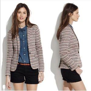 Madewell • Tailored Crossweave Tailored Blazer